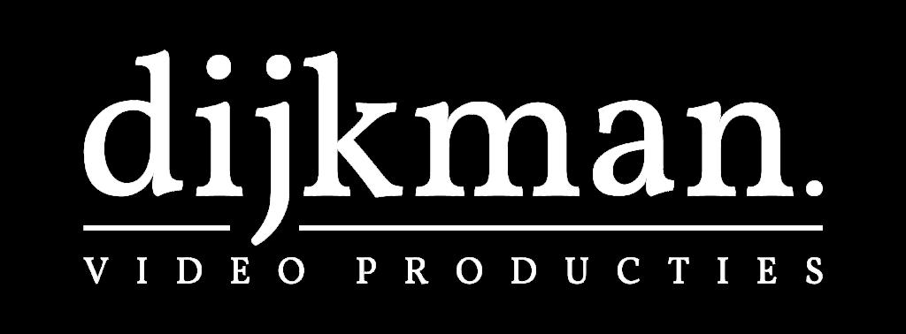 Logo Dijkman Producties wit